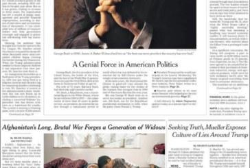 «Paris en flammes» et les «Yellow vests» à la Une de la presse mondiale