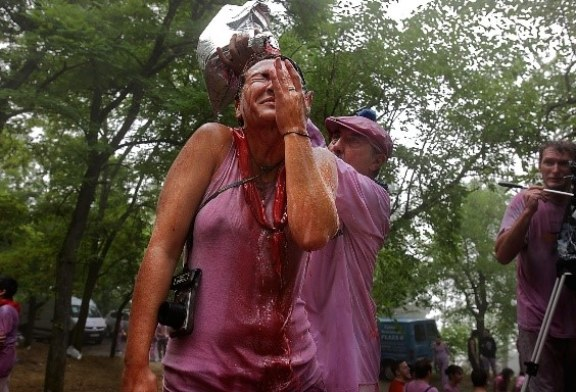 Wine Fight – A Battle For the Ages…