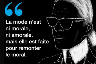 Mort de Karl Lagerfeld, icône mondiale de la mode