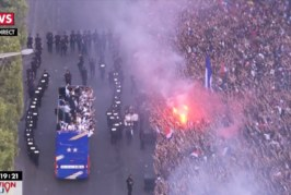 Coupe du monde 2018: letriomphe des Bleus sur les Champs-Elysées