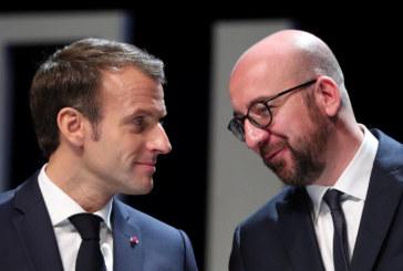 À Bruxelles, Macron défend «son» Europe