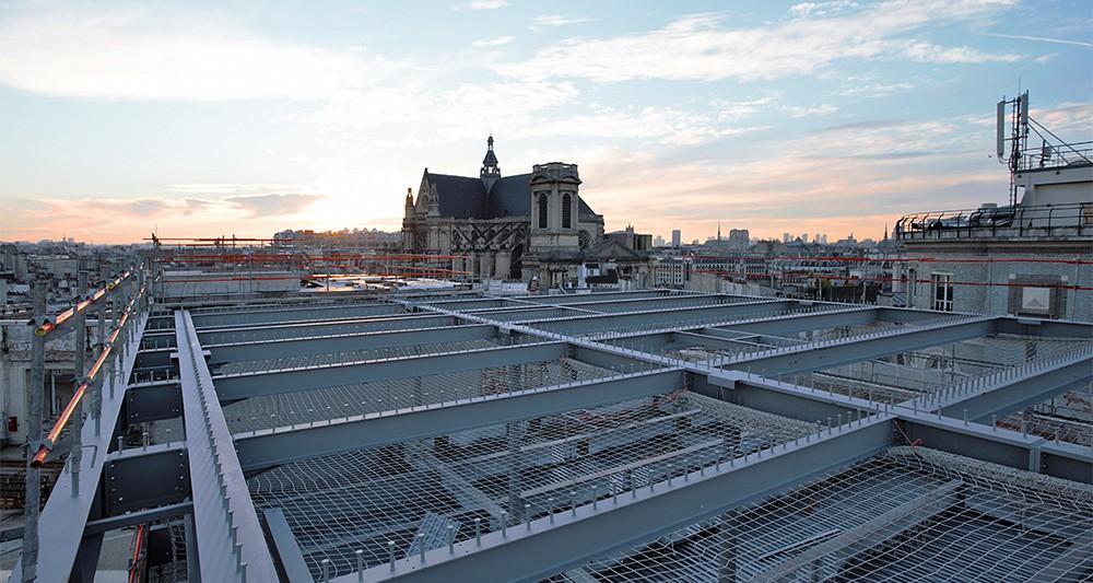Le bâtiment sera surplombé d'une terrasse plantée avec vue à 360 degrés. - Elise Robaglia