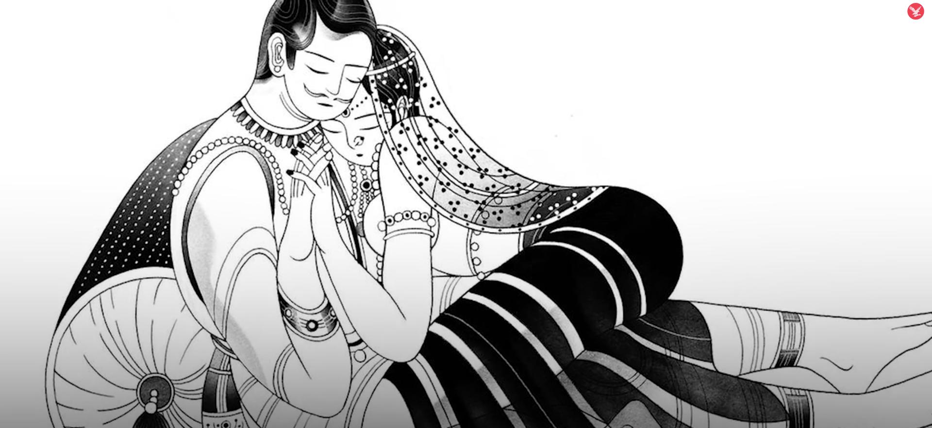 Le Kamasutra parle aussi d'amour