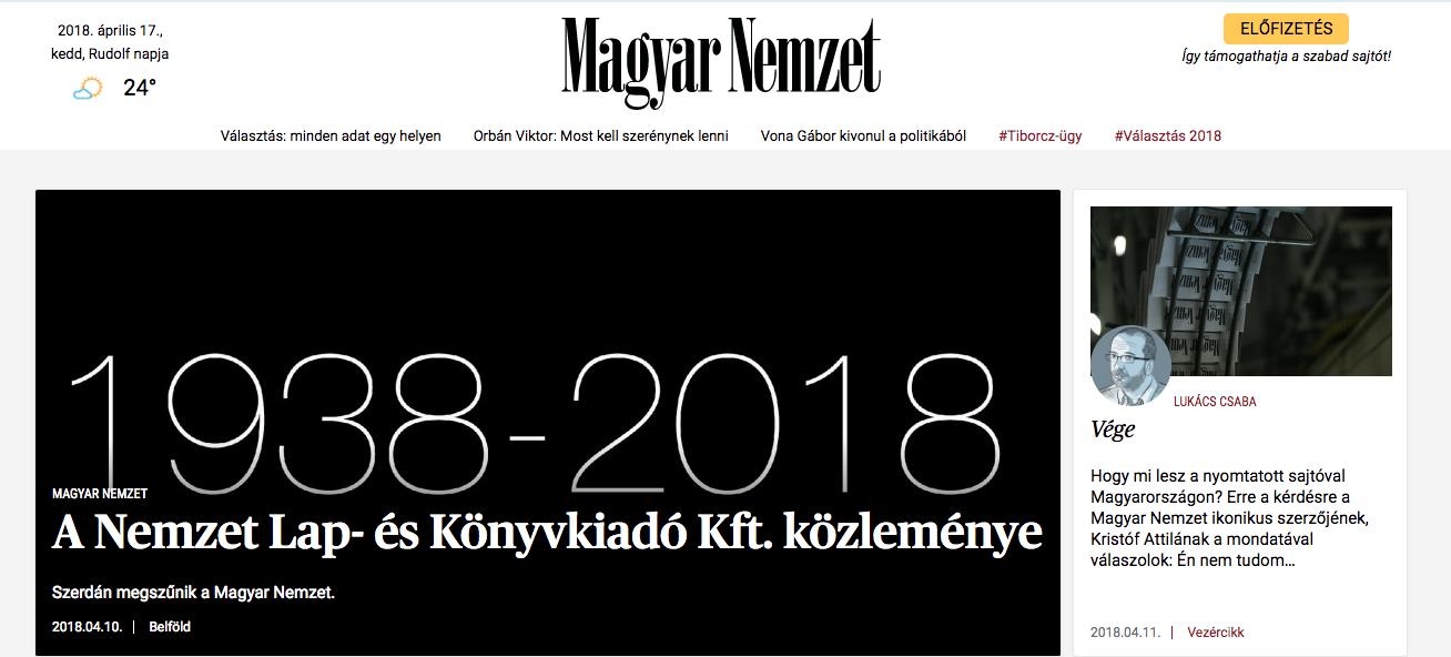 Le dilemme de la presse hongroise: marche pour Orbán ou crève