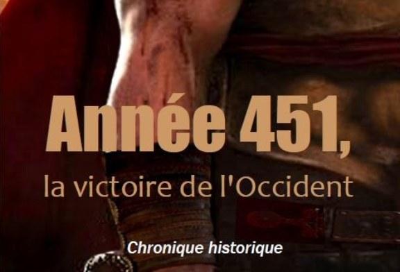 Livre : Alain Di Rocco – Année 451, la victoire de l'occident