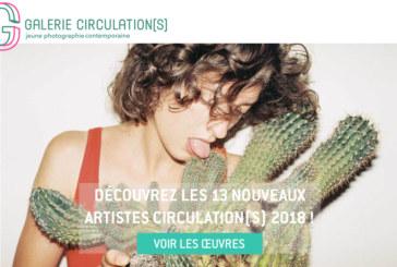 Galerie Circulation(s): L'édition de2018 en vente sur la galerie en ligne !