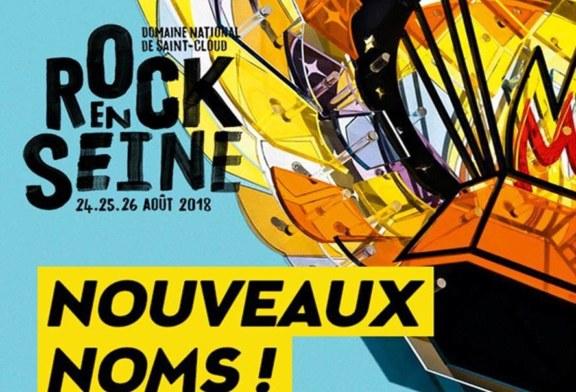 Rock en Seine 2018: De nouveaux noms annoncés