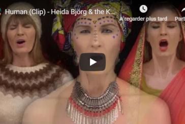 """Musique: Découvrez """"Human"""", le 1er clip extrait de l'album """"Inspiration"""" de Heida Björg & The Kaos"""