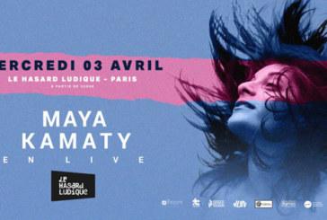 Musique: Maya Kamaty en concert à Paris