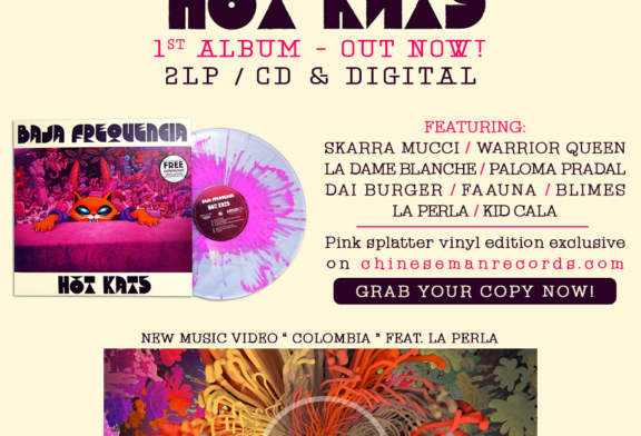 Musique: Baja Frequencia sort Hot Kats, son 1er opus