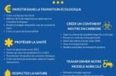 Elections européennes:Focus sur les politiques environnementales des candidats aux européennes