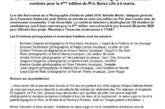 C.P. : La Fondation Swiss Life révèle les 9 binômes nominés pour la 4ème édition du Prix Swiss Life à 4 mains.