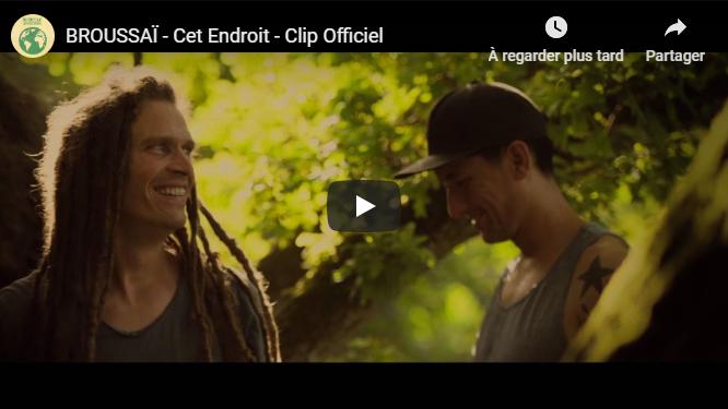 """Découvrez """"Cet Endroit"""", le nouveau clip extrait de l'album """"Une Seule Adresse"""" de Broussaï"""
