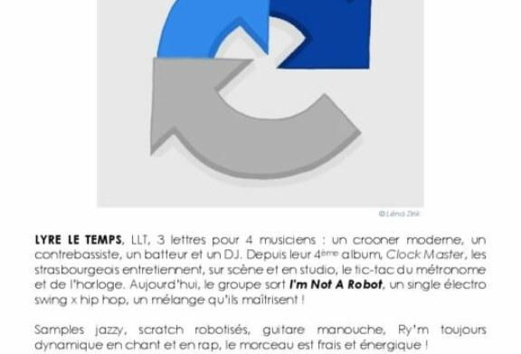 """Lyre Le Temps à sorti le clip """"I'm Not A Robot"""""""