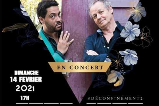 Jann Halexander & Claudio Zaretti 'Chants Nomades' au Théâtre du Gouvernail